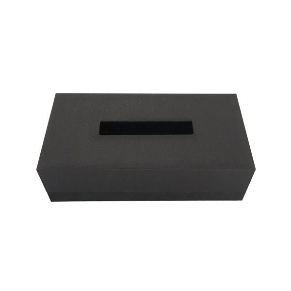 ANI019 ティッシュBOX<br /> ブラック